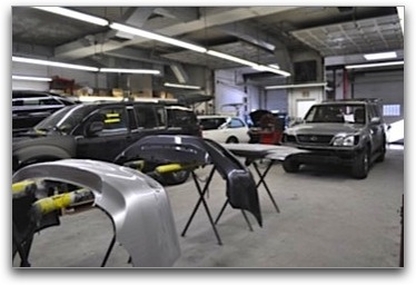 State of the Art Auto Body Repair Facility